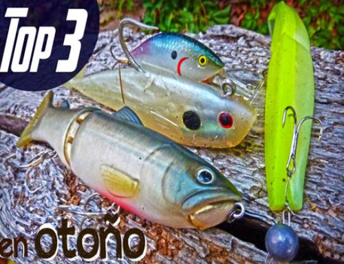 Señuelos para pescar Lucios en Otoño